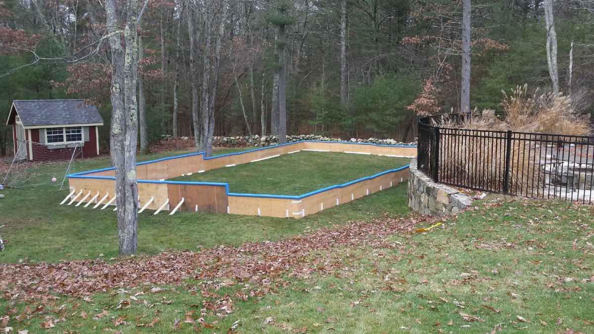 Backyard Ice Rinks - WJ Smallwood